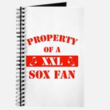 Property Of A Sox Fan Journal