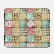 Vintage Quilt Mousepad