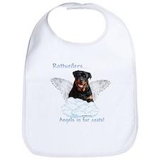 Rottie Angel Bib