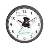 Rottweiler clock Wall Clocks