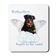 Rottie Angel Mousepad