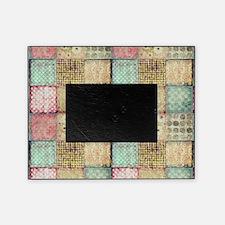 Vintage Quilt Picture Frame