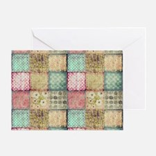 Vintage Quilt Greeting Card