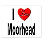 I Love Moorhead Small Poster