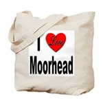 I Love Moorhead Tote Bag