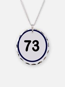 Sheldon Cooper 73 Necklace