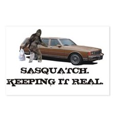 Sasquatch Keeping It Real Postcards (Package of 8)