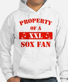 Property Of A Sox Fan (Red) Hoodie