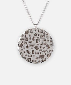 Vintage Cameras Necklace