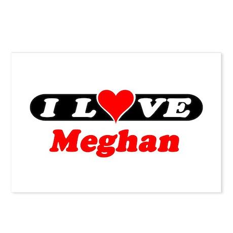 I Love Meghan Postcards (Package of 8)
