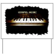 Classic Gospel Keys Yard Sign