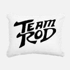 Team Rod Rectangular Canvas Pillow