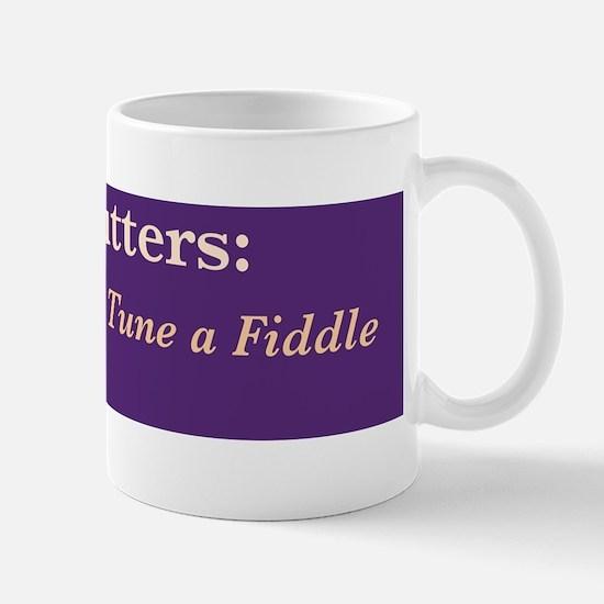 Wire cutters-fiddle /FenderFlash Mug