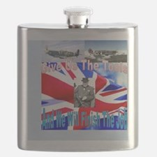 Churchill and Spitfire, Give us the tools Flask