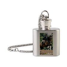 LT Forever Over Fences Flask Necklace