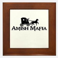 Amish Mafia Framed Tile