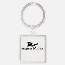 Amish Mafia Square Keychain