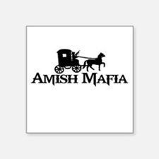 "Amish Mafia Square Sticker 3"" x 3"""