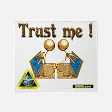 trust me Throw Blanket