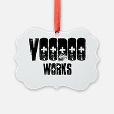 Voodoo works funny black magic te Ornament