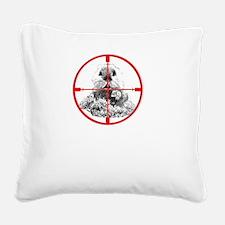Freeze Gopher Square Canvas Pillow