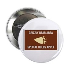 Grizzly Bear Area, Wyoming (US) Button