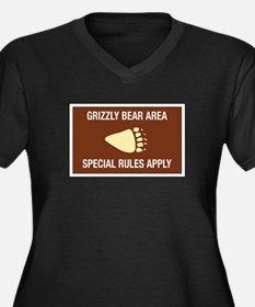 Grizzly Bear Area, Wyoming (US) Women's Plus Size