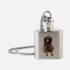 Bubba Squirl Flask Necklace