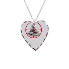 Freeze Gopher Necklace Heart Charm