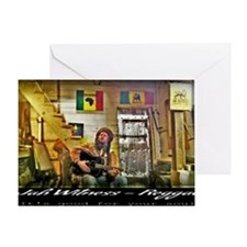 Jah Witness Reggae Greeting Card