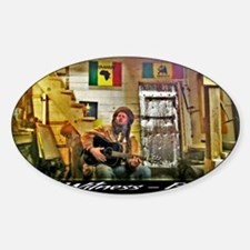 Jah Witness Reggae Decal