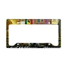 Jah Witness Reggae License Plate Holder