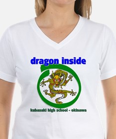 Dragon Inside Ash Grey T-Shirt