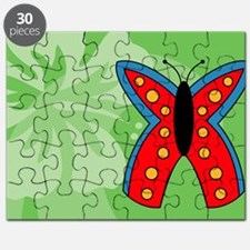 Butterfly Messenger Bag Puzzle