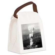 Atomic burst over Hiroshima, 1945 Canvas Lunch Bag