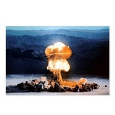 Atomic bomb explosion Postcards (Package of 8)