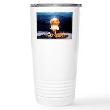 Atomic bomb explosion Travel Mug