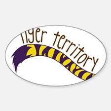 Tiger Territory Decal