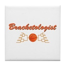 Bracketologist Tile Tourney Coaster