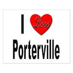 I Love Porterville Small Poster