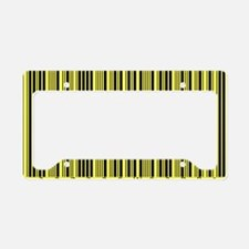 Barcode License Plate Holder