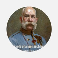 Franz Josef I Round Ornament