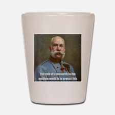 Franz Josef I Shot Glass