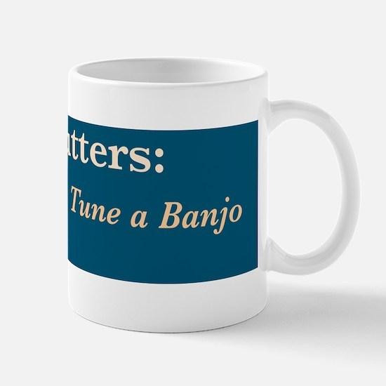 Wire cutters-banjo /FenderFlash Mug