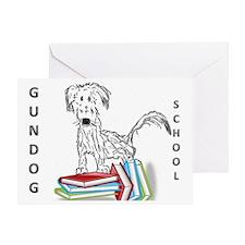 STUDY HARD SCRATCH Greeting Card