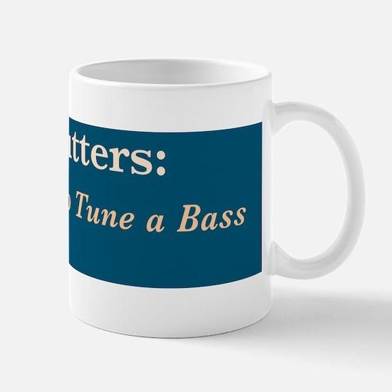Wire cutters-Bass /FenderFlash Mug