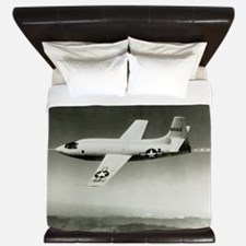 Bell X-1 in flight, the first supersoni King Duvet