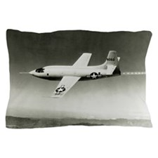 Bell X-1 in flight, the first superson Pillow Case
