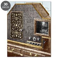 Baird Televisor, early television set Puzzle