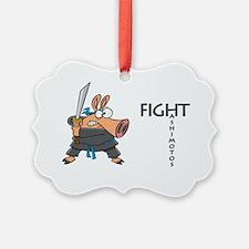 Fight Hashimoto's Thyroiditus Ornament